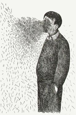 Le vent by Roland Topor