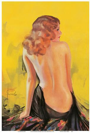 Nude Glamour Art - Front Cover College Humor Magazine May 1932