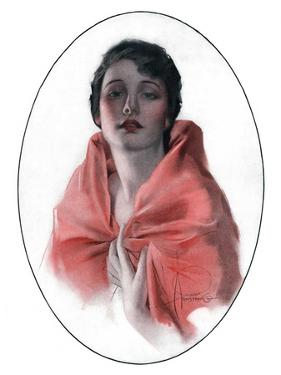 """Woman in Shawl,""June 16, 1923 by Rolf Armstrong"