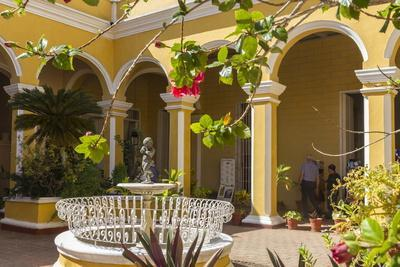 Courtyard of Cantero Palace