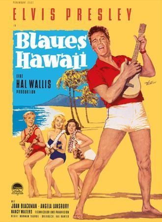 Elvis Presley in Blaues (Blue) Hawaii by Rolf Goetze