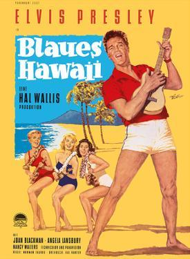 Elvis Presley in Blaues (Blue) Hawaii by Rolf Goetze