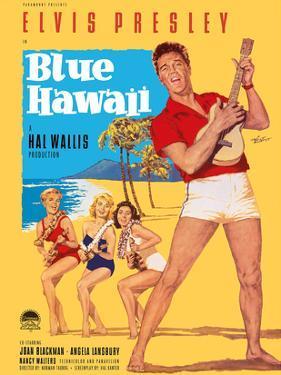 Elvis Presley in Blue Hawaii by Rolf Goetze