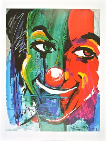 Face of the Clown , 1989 by Rolf Knie