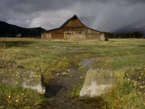 Old Barn in Antelope Flats, Grand Teton National Park, Wyoming, USA by Rolf Nussbaumer