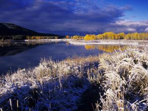 Oxbow Bend at Sunrise, Grand Teton National Park, Wyoming, USA by Rolf Nussbaumer