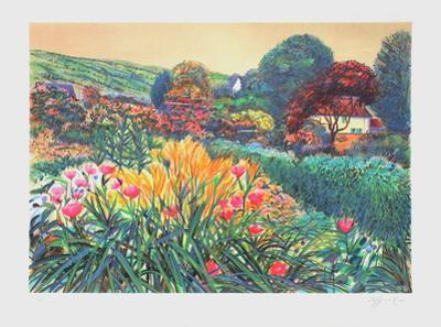 Giverny, dans le jardin de Monet by Rolf Rafflewski