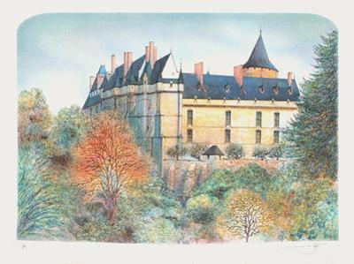 Le château de Chateaudun by Rolf Rafflewski