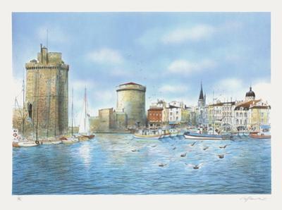Le Port de La Rochelle by Rolf Rafflewski