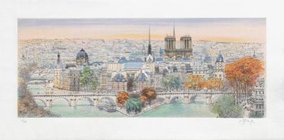 Paris, panorama vers l'Est II by Rolf Rafflewski