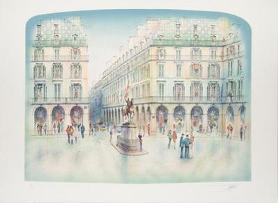 Place Jeanne d'Arc by Rolf Rafflewski