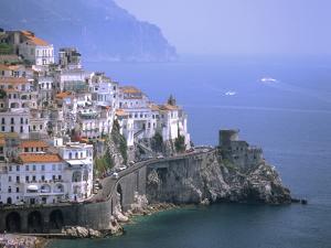 Amalfi Coast, UNESCO World Heritage Site, Campania, Italy, Mediterranean, Europe by Rolf Richardson