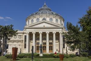 Atheneum Concert Hall, Bucharest, Romania, Europe by Rolf Richardson