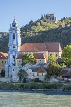 Castle and Abbey, Durnstein, River Danube, Wachau Valley, UNESCO World Heritage Site, Lower Austria by Rolf Richardson
