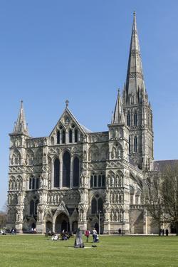 Cathedral, Salisbury, Wiltshire, England, United Kingdom by Rolf Richardson