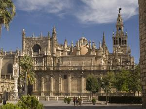 Cathedral, UNESCO World Heritage Site, Seville, Andalucia, Spain, Europe by Rolf Richardson
