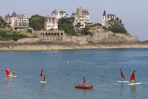 Dinard Bay, Brittany, France, Europe by Rolf Richardson