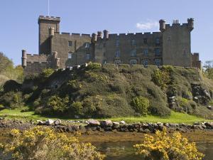 Dunvegan Castle, Skye, Inner Hebrides, Scotland, United Kingdom, Europe by Rolf Richardson