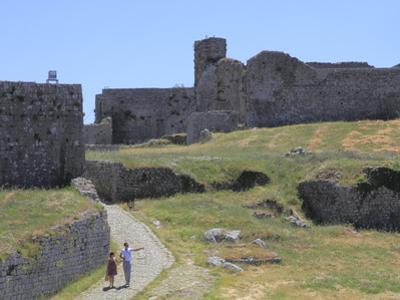 Fort Rozafa, Shkoder, Albania, Europe by Rolf Richardson