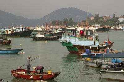 Harbour, Cheung Chau Island, Hong Kong, China, Asia by Rolf Richardson