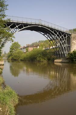 Ironbridge, UNESCO World Heritage Site, Shropshire, England, United Kingdom, Europe by Rolf Richardson