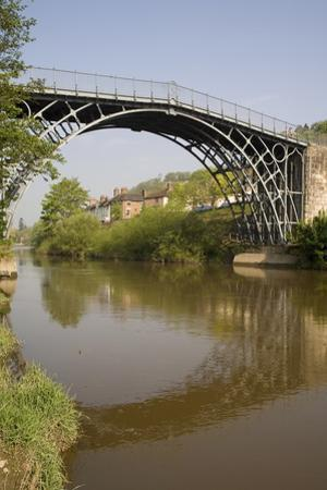 Ironbridge, UNESCO World Heritage Site, Shropshire, England, United Kingdom, Europe by Rolf Richardson