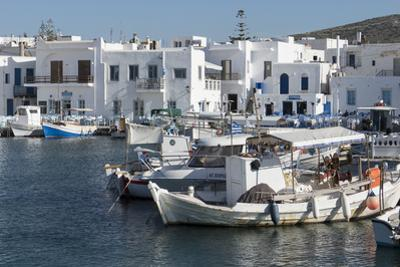 Naoussa Harbour, Paros, Cyclades, Greek Islands, Greece by Rolf Richardson