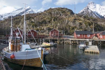 Nusfjord, Lofoten Islands, Nordland, Arctic, Norway, Scandinavia by Rolf Richardson
