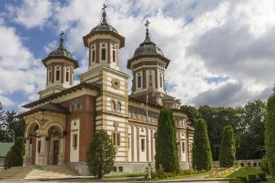 Orthodox Church of Sinaia Monastery, Wallachia, Romania, Europe by Rolf Richardson