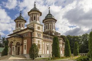 Orthodox Church of Sinaia Monastery, Wallachia, Romania, Europe by Rolf Richardson
