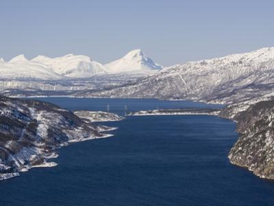 Rombakfjord From Ofoten Railway, Narvik, Nordland, Norway, Scandinavia, Europe by Rolf Richardson