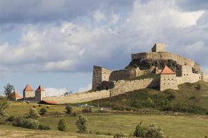 Rupea Castle, Transylvania, Romania, Europe by Rolf Richardson
