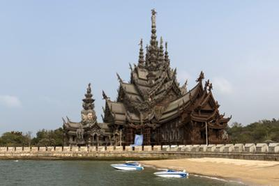 Sanctuary of Truth, Pattaya, Thailand, Southeast Asia, Asia by Rolf Richardson