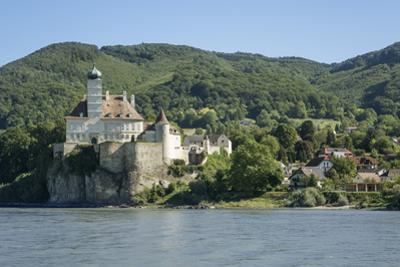 Schloss Schonbuhel and River Danube, Wachau Valley, Lower Austria, Austria, Europe by Rolf Richardson