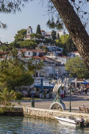 Seafront, Skiathos, Sporades, Greek Islands, Greece, Europe