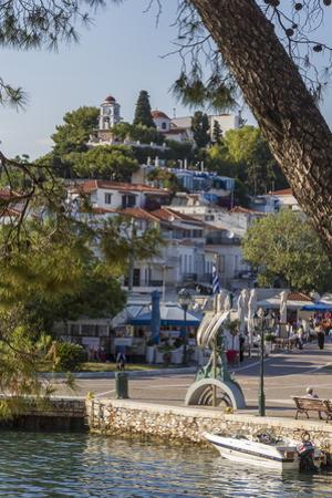 Seafront, Skiathos, Sporades, Greek Islands, Greece, Europe by Rolf Richardson