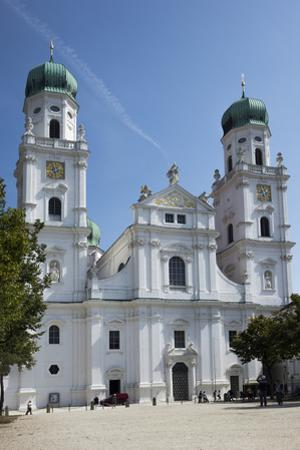 St. Stephens Cathedral, Passau, Lower Bavaria, Germany, Europe by Rolf Richardson