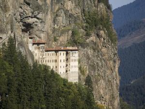 Sumela Monastery, Trabzon, Anatolia, Turkey, Asia Minor, Eurasia by Rolf Richardson