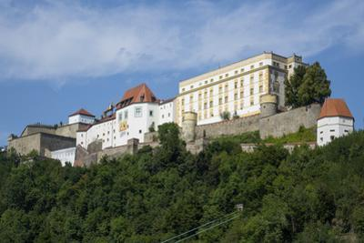 Veste Oberhaus Fortress, Passau, Lower Bavaria, Germany, Europe by Rolf Richardson