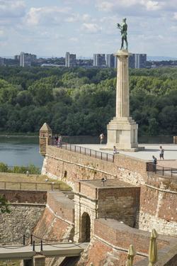 Victor Column, Kalemegdan Fortress, Belgrade, Serbia, Europe by Rolf Richardson