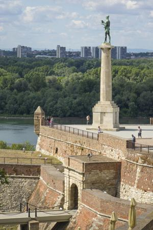 Victor Column, Kalemegdan Fortress, Belgrade, Serbia, Europe by Rolf Richardson