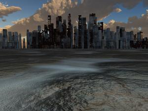 Abandoned City and Baked Earth by rolffimages