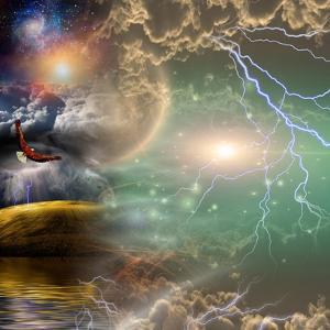 Mystical Landscape Composition by rolffimages