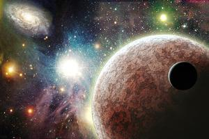 Planets In Space by rolffimages