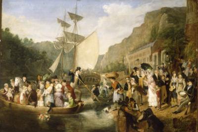 Rownham Ferry with Portraits