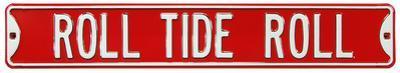 Roll Tide Roll Alabama Steel Sign