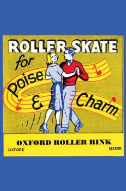 Roller Skate - Poise & Charm