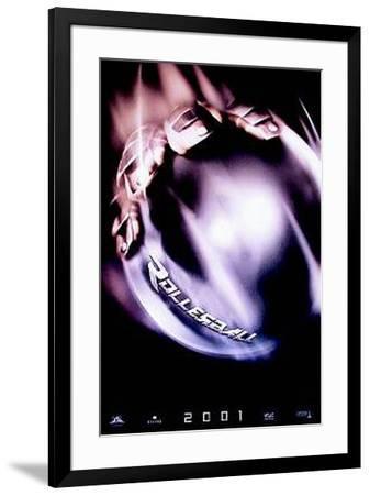 Rollerball 2001--Framed Original Poster