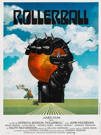 Rollerball, French poster, 1975