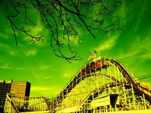Rollercoaster, the Cyclone Rollercoaster, Astroland, Coney Island, Brooklyn, New York City